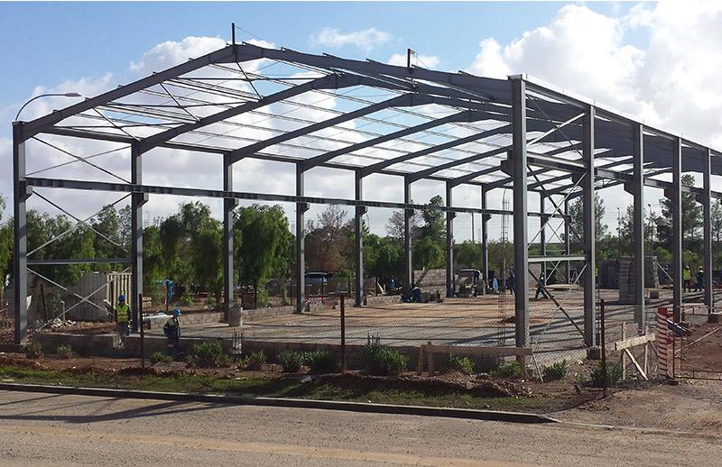 boninox maroc construction d 39 un hangar pour le stockage